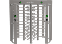 Image of 'Full Height Dual Lane Turnstile Gate Barrier'